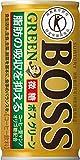 ボス(BOSS) グリーン 缶 (トクホ) 185mlx30本