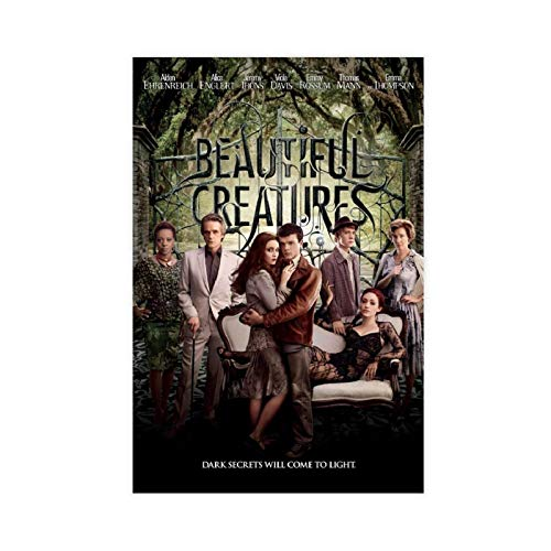 Beautiful Creatures Movie Poster Restaurant School Club Canteen Bar Cafe Decoration 2 Canvas Poster Bedroom Decor Sports Landscape Office Room Decor Gift 20×30inch(50×75cm) Unframe-style1
