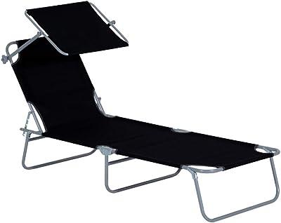 Tumbona plegable 3 posiciones hecho en aluminio mod ...