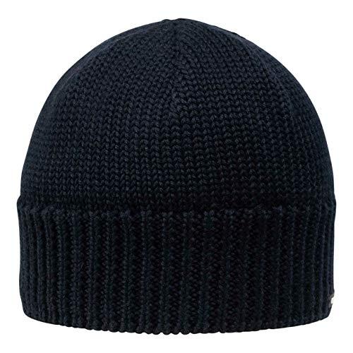 GIESSWEIN Cap Gösleswand - Unisex Strickmütze für Damen & Herren, Merino Wool Beanie, Warme Winter-Mütze aus Merinowolle, Sportmütze mit Fleece gefüttert