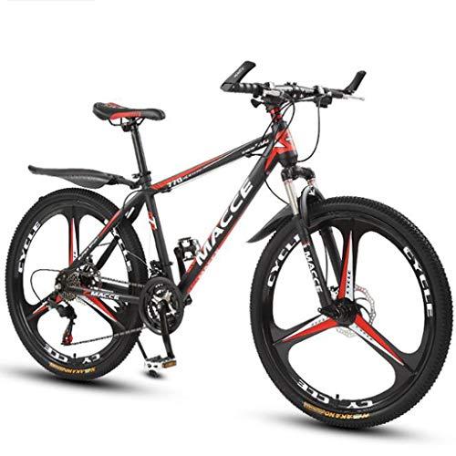 Bicicleta de montaña Mountainbike Bicicleta BTT bicicleta de montaña de 26 pulgadas bicicletas de montaña de acero al carbono resistente a los golpes Bicicletas barranco de la Unidad de rueda Suspensi