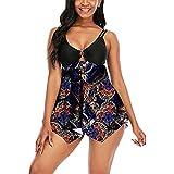 N-B Bañadores Mujer Natacion Vestidos Cortos Push up Empalme Colores Trajes de Baño de Una Piezas 2021 Verano Bikinis de Adolescentes Chica Neopreno Ropa de Deportivo