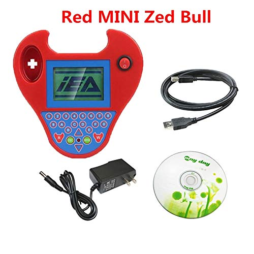Best Quality Silca SBB V48.99 V48.88 V46.02 V33.02 Works Multi-Brand Car SBB Transponder Key Programmer Multi-Language (Red Zed Bull)