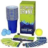 Destination Drunk - 15 Juegos de Beber más Locos de Todo el Mundo (Juegos de Fiesta para Adultos de Japón, Perú, Alemania, Rusia y más)