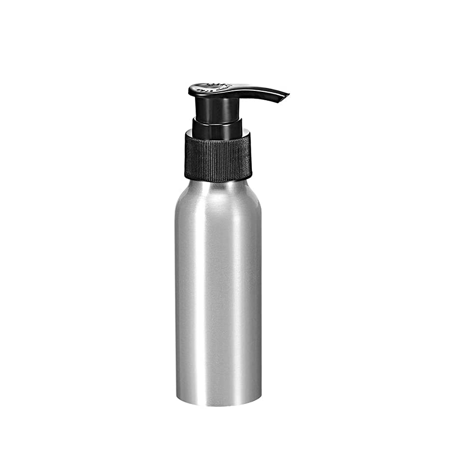道含意緊急uxcell uxcell アルミスプレーボトル ブラックファインミストスプレー付き 空の詰め替え式コンテナ トラベルボトル 2.7oz/80ml
