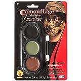 Disfraces para todas las ocasiones DD157 Tri Paleta de colores de camuflaje