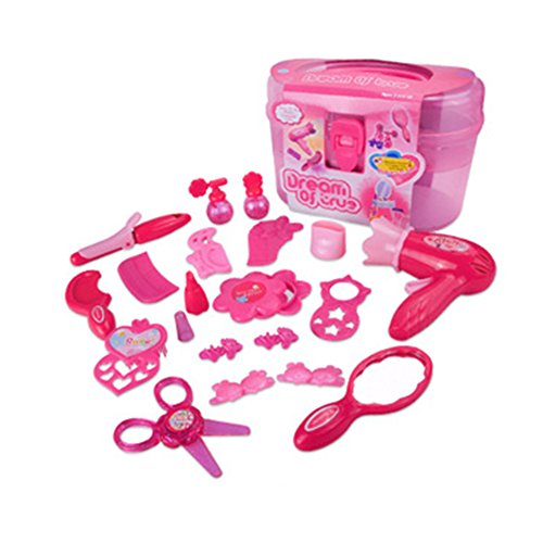 Rocita Juguetes de Maquillaje Set Juguete Cosmético del Salón de Belleza Kit para niñas pequeñas Maquillaje para niñas Kit 1 Set