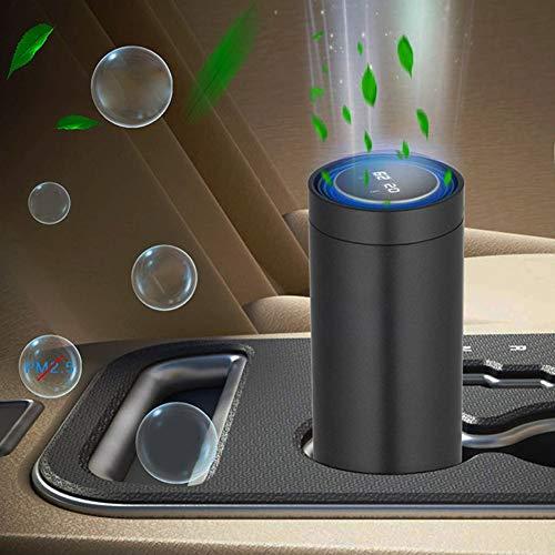 Purificateur d'air de Voiture, purificateurs d'air, Interface USB 5V, clé Unique, écran de Filtre Composite Multicouche pour Chambre à Coucher pour Bureau