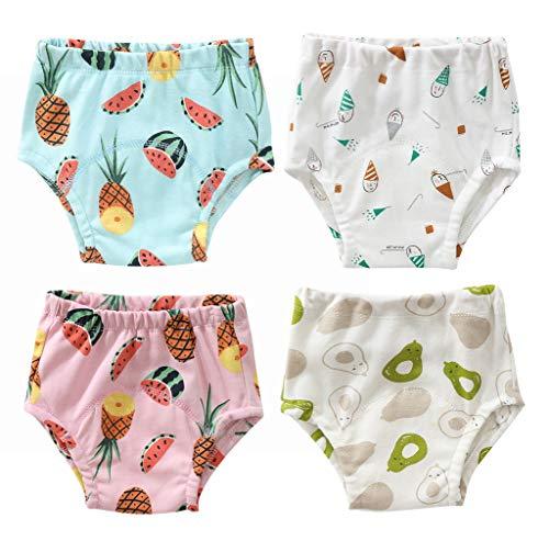 Windeln, waschbar, für Babys (4 Stück) Gr. 2-4 Jahre, Stil B