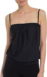 SPANX Bold Blouson Tankini Swimsuit Top Black