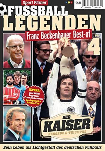 Sport Planer FUSSBALL LEGENDEN Vol. 4 - Franz Beckenbauer Best-of