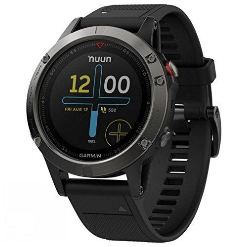 Garmin Fenix 5 Sapphire Multisport GPS Watch - Black