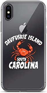 iPhone 6 Plus/6s Plus Pure Clear Case Crystal Clear Cases Cover Daufuskie Island South Carolina Crab Beach Vacation Memory Transparent