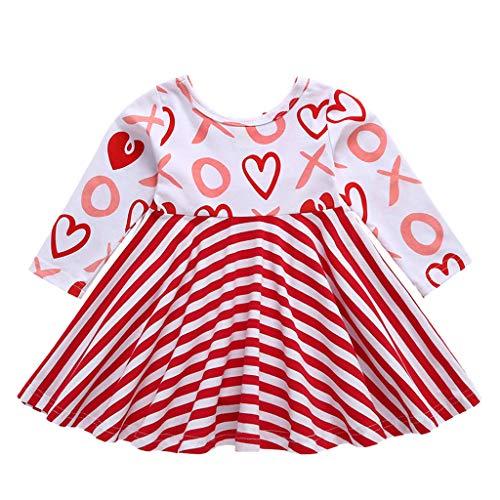 Quaan-baby Kleine Mädchen Einhorn Party Kleid Mit Langen Ärmeln Outfits Süße Tutu Röcke Casual Dress Für Baby Mädchen