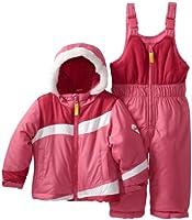Osh Kosh Baby Girls Infant 2 Piece Colorblock Snowsuit