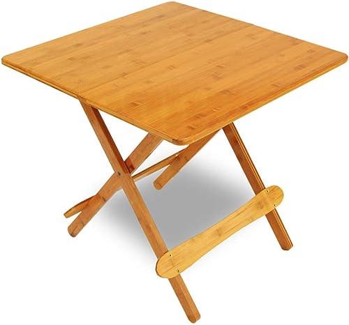 Tableau LHA Table d'étude de Table Pliante Table de Repas portative d'extérieur Petite Table carrée