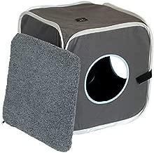 Amazon.com: a4pet Curious Cat cubeta, cámara, Cat Condo con ...