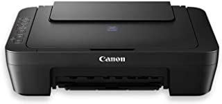 Canon Pixma E470 All-in-One Inkjet Printer (Black)