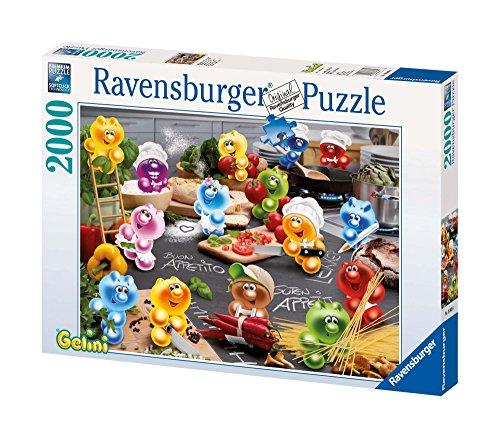 Ravensburger Puzzle 16608 - Gelinis: Küche, Kochen, Leidenschaft - 2000 Teile Puzzle für Erwachsene und Kinder ab 14 Jahren, Gelini Puzzle
