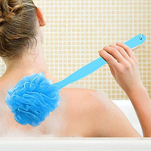 Mangas largas super suave cepillo de baño