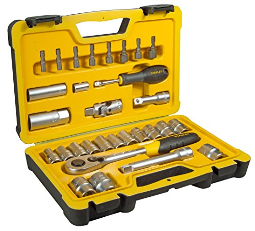 Stanley Set di chiavi a bussola, 30pezzi, 1/2pollici, 1pezzi, STHT0–73929