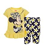 Disney Minnie Mouse Toddler Girls T-Shirt and Shorts Set 4T