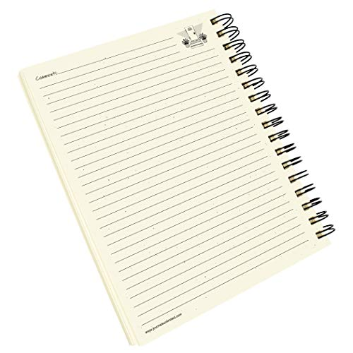 """Journals Unlimited """"Write it Down!"""" Series Guided Journal, Guest Journal, Enjoy Your Stay!, with a Kraft Hard Cover, Made of Recycled Materials, 7.5""""x 9"""" Photo #9"""