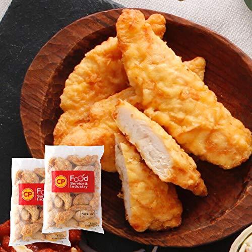 [スターゼン] タイ産 鶏天 鶏肉 1kg × 2パック 合計 2kg 約44個 冷凍食品 業務用 チキン とり天 冷凍 鶏肉 ささみ レンジ お弁当 おやつ おつまみ 夜食 電子レンジ 簡単調理 時短 美味しい 年越し そば うどん トッピング