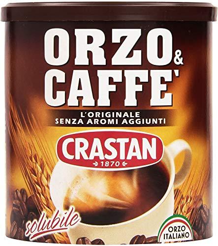 3x Crastan Orzo und kaffee Instant lösliche Gerste Getreidekaffee Kaffee 120 gr