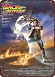 Back To The Future 1985 Movie Vintage Reproduction Metal Tin Sign 8X12 inches