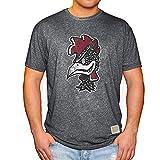 Elite Fan Shop South Carolina Gamecocks Retro Tshirt Charcoal - Small