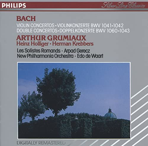 Arthur Grumiaux, Herman Krebbers, Heinz Holliger, Les Solistes Romands, Arpad Gérecz, New Philharmonia Orchestra & Edo de Waart