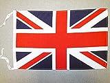 AZ FLAG Flagge Vereinigtes KÖNIGREICH 45x30cm mit Kordel - BRITISCHE Fahne 30 x 45 cm - flaggen Top Qualität