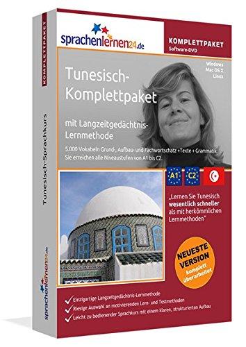 Tunesisch Sprachkurs: Fließend Tunesisch lernen. Lernsoftware-Komplettpaket