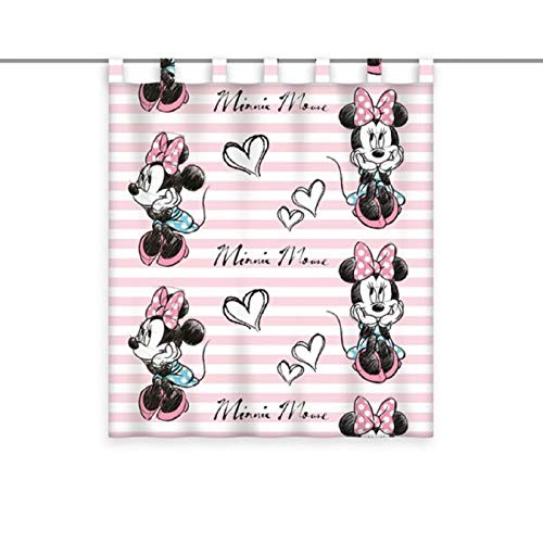 Disney Gardine Vorhang Fertiggardine Minnie Mouse 140 x 160 cm
