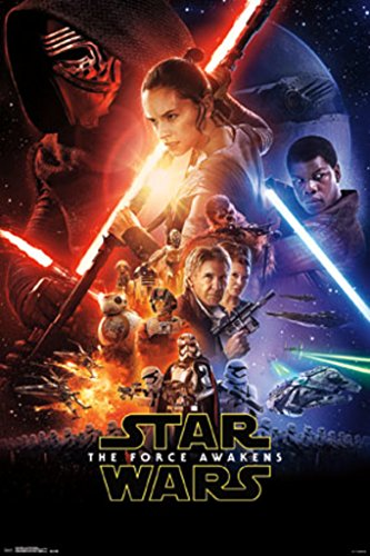 Awesome Star Wars: Episode VII the Force Awakens Poster. 24*36
