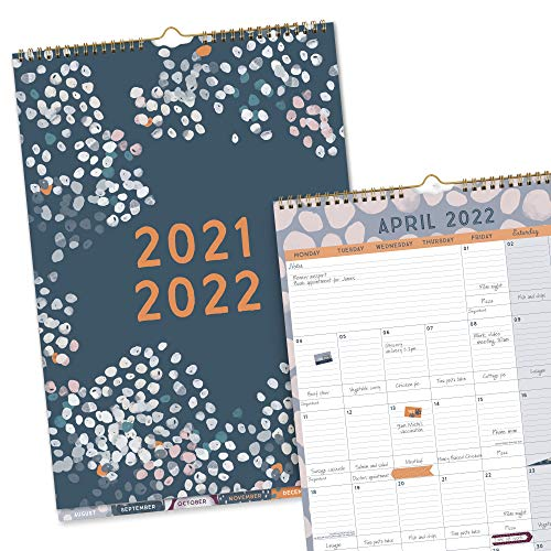 Boxclever Press Perfect Year A3 Calendar 2021 2022. NEW Academic Calendar...