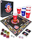 DRINK-A-PALOOZA Party Game: The Drinking Game That Combines Old-School + New-School Adult Games Featuring Beer Pong, Flip Cup, Kings Card Game & all The Best Games for Adults