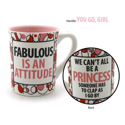 Fabulous is An Attitude Coffee Mug 16-ounce Lorrie Veasey