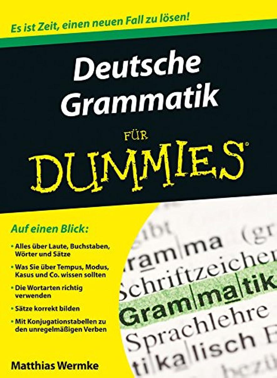 突き出す降臨死んでいるDeutsche Grammatik für Dummies (German Edition)