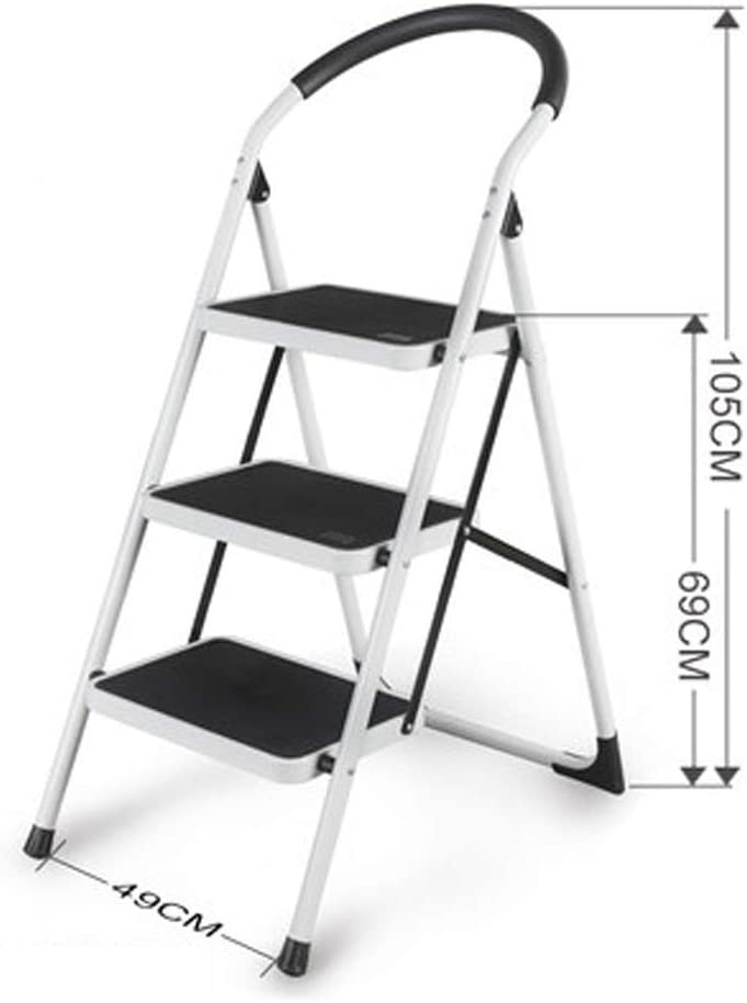 YISYIS Ladder sold out Folding Step Clearance SALE! Limited time! Handgrip Stool with Anti-Slip