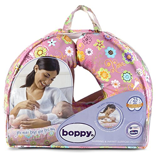Chicco Boppy- Cojín de lactancia algodón,...