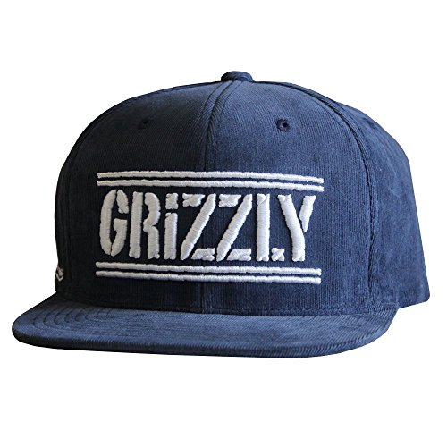 Grizzly Griptape Hunters Snapback Navy