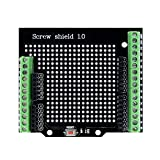 Aideepen Proto Screw Shield Assembled Terminal Point Prototype Expansion Board Opening Source Reset Button PCB Bareboard D13 Universal LED for Arduino
