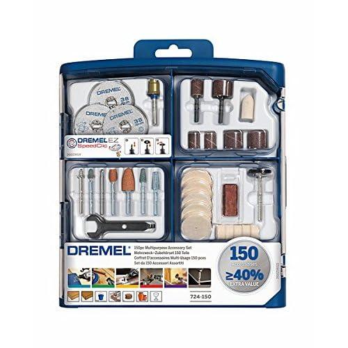 Dremel 2.615.S72.4JA Kit de 150 accesorios variados