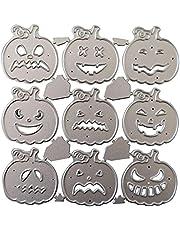 RosieLily Halloween Pumpa Metall Skärning Dör Stencil Scrapbooking Diy Album Stämpel Papper, Skärande Dör För Kort Tillverkning