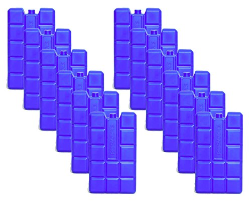 NEMT 12 Stück 400 ml Kühlakkus Kühlelemente für Kühltasche oder Kühlbox bis 20 h Kühlpack Kühlakku