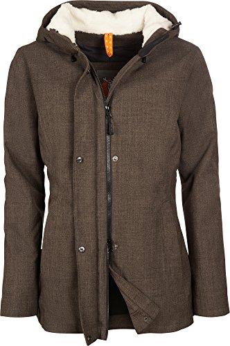 Elkline Short Cut - Winterjacke, Größe_Bekleidung_NR:46, Farbe:camelmelange