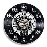 GXYtable cloth Regalo for el Reloj de Vinilo del Profesor de química.