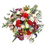 Ramo de flores Dakar - Flores RECIÉN CORTADAS y NATURALES de Gran Tamaño - ENTREGA EN 24h con Dedicatoria Personalizable Gratuita - FLORES FRESCAS PARA DEDICAR